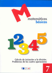 MATEMATICAS BASICAS - 7 CALCULO DE INICIACION A LA DIVISION