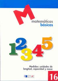 Matematicas Basicas 16 - Aa. Vv.