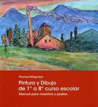 DIBUJO Y PINTURA DE 1º A 8º CURSO ESCOLAR - MANUAL PARA MAESTROS Y PADRES