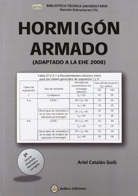 Hormigon Armado - (adaptado A La Ehe 2008)  (2ª Ed. ) - Ariel Catalan Goñi