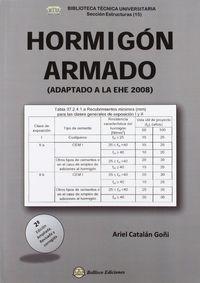 Hormigon Armado - (adaptado A La Ehe 2008) (2ª Ed) - Ariel Catalan Goñi