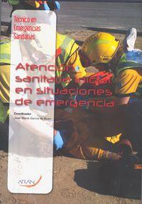 TES - ATENCION SANITARIA INICIAL EN SITUACIONES DE EMERGENCIA