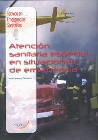 TES - ATENCION SANITARIA ESPECIAL EN SITUACIONES DE EMERGENCIA