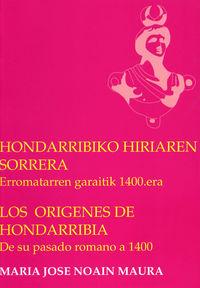 HONDARRIBIKO HIRIAREN SORRERA / LOS ORIGENES DE HONDARRIBIA