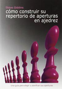 COMO CONSTRUIR SU REPERTORIO DE APERTURAS DE AJEDREZ
