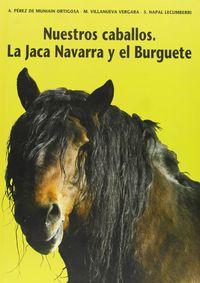 Nuestros Caballos - La Jaca Navarra Y El Burguete - Alberto Perez De Muniain / Martin Villanueva Vergara / Saturnino Napal Lecumberri