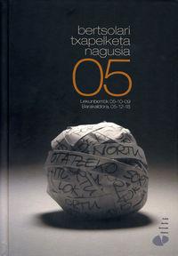 Bertsolari Txapelketa Nagusia 05 -