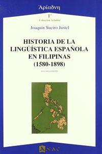 HISTORIA DE LA LINGUISTICA ESPAÑOLA EN FILIPINAS