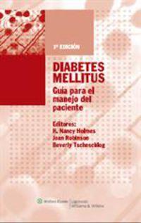 DIABETES MELLITUS - GUIA PARA EL MANEJO DEL PACIENTE