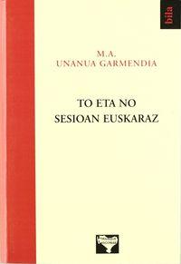 To Eta No Sesioan Euskaraz - M. A. Unanua