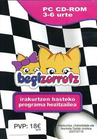 (CD-ROM) BEGIZORROTZ (3-6 URTE) IRAKURTZEN HASTEKO PROG. HEZITZAILEA