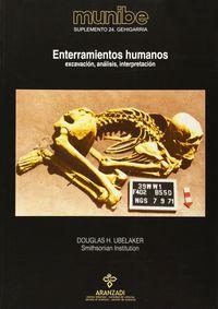 Munibe Aldizkaria 24 Gehigarria - Enterramientos Humanos - Douglas H. Ubelaker