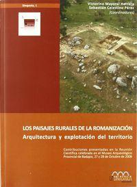 PAISAJES RURALES DE LA ROMANIZACION, LOS