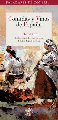 Comidas Y Vinos De España - Richard Ford