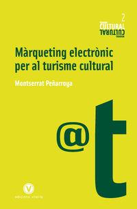 MARQUETING ELECTRONIC PER AL TURISME CULTURAL