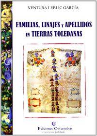 FAMILIAS, LINAJES Y APELLIDOS EN TIERRAS TOLEDANAS
