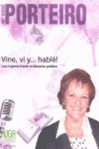 VINE, VI Y... HABLE! - LAS MUJERES FRENTE AL DISCURSO PUBLICO