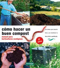 Como Hacer Un Buen Compost (5ª Edic) - Manual Horticultores Ecologic - Mariano Bueno