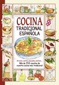 Cocina Tradicional Española - El Sabor De Nuestra Tierra - Aa. Vv.