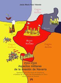 1512-1521 ASPECTOS MILITARES DE LA ANEXION DE NAVARRA