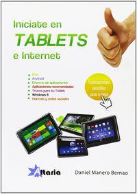 INICIATE EN TABLETS E INTERNET