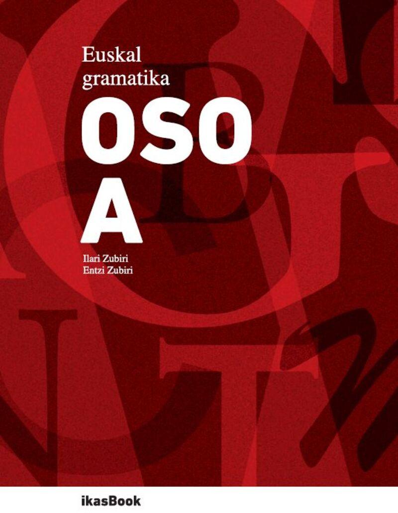 Euskal Gramatika Osoa - Batzuk