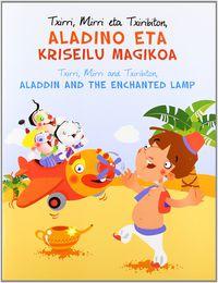 aladino eta kriseilu magikoa = aladdin and the enchanted (txirri, - Batzuk