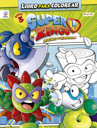 superzings - libro para colorear - series 3 - Aa. Vv.