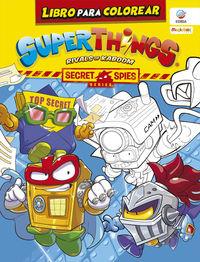 superzings - secret spies series - libro para colorear (+3 superzings) - Aa. Vv.