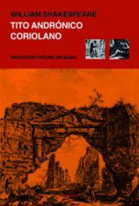 Tito Andronico / Coriolano - William Shakespeare