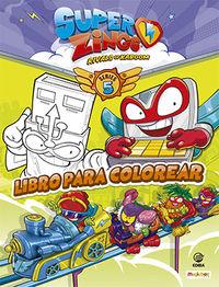 libro para colorear superzings series 5 - Aa. Vv.