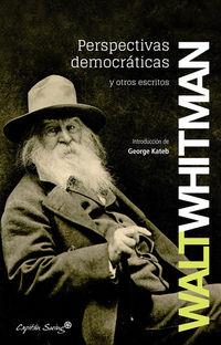 perspectivas democraticas y otros escritos - Walt Whitman