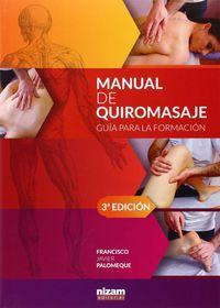 MANUAL DE QUIROMASAJE - GUIA PARA LA FORMACION (3ª ED)