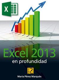 EXCEL 2013 - EN PROFUNDIDAD