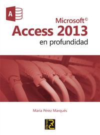 MICROSOFT ACCESS 2013 - EN PROFUNDIDAD