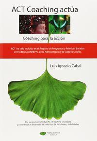 ACT COACHING ACTUA - COACHING PARA LA ACCION