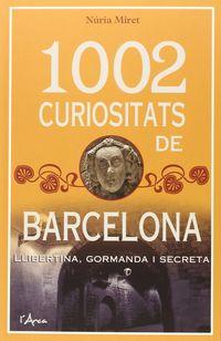 1002 CURIOSITATS DE BARCELONA