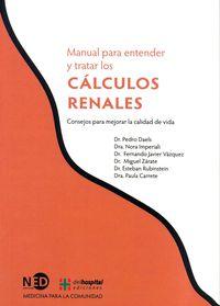 Manual Para Entender Y Tratar Los Calculos Renales - Aa. Vv.