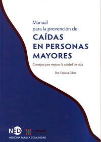 manual para la prevencion de caidas en personas mayores - Fabiana Giber