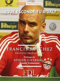 ¿que Esconde Tu Rival? - Francis Sanchez