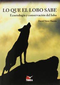 Lo Que El Lobo Sabe - David Nieto Macein