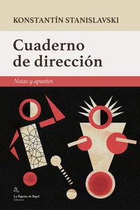 Cuaderno De Direccion - Konstantin Stanislavski