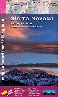 MAPA PENIBETICA - SIERRA NEVADA - LA ALPUJARRA - MARQUESADO DE ZENETE 1: 40000