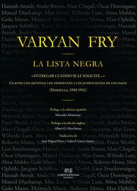 La lista negra - Varian Fry