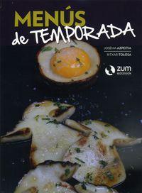 MENUS DE TEMPORADA