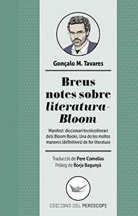 Breus Notes Sobre Literatura-Bloom - Gonçalo M. Tavares