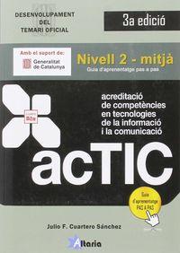 Actic - Nivell 2 - Mitja - Julio F. Cuartero Sanchez