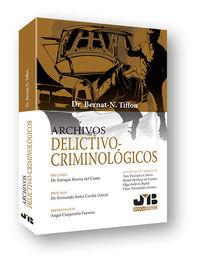 Archivos Delictivo-Criminologicos - Bernat-Noel Tiffon Nonis