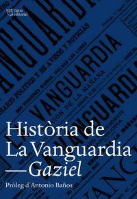 HISTORIA DE LA VANGUARDIA