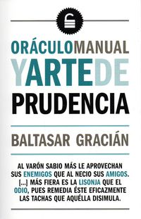 ORACULO MANUAL Y ARTE DE PRUDENCIA